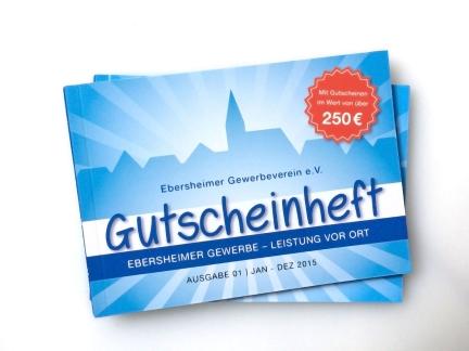 Ebersheimer Gewerbeverein – Gutscheinheft