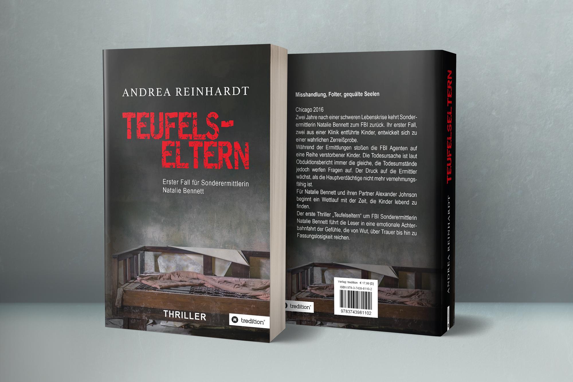 """Teufelseltern – Erster Fall für Sonderermittlerin Natalie Bennett"" – Andrea Reinhardt"
