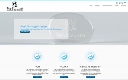 Präzisionskugeln und technische Glasprodukte –  Worf Glaskugeln GmbH
