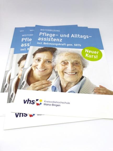 Pflege- und Alltagsassistenz – Kreisvolkshochschule Mainz-Bingen